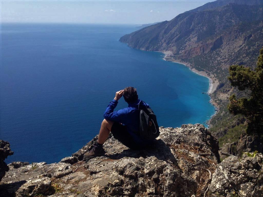 senderismo en Creta