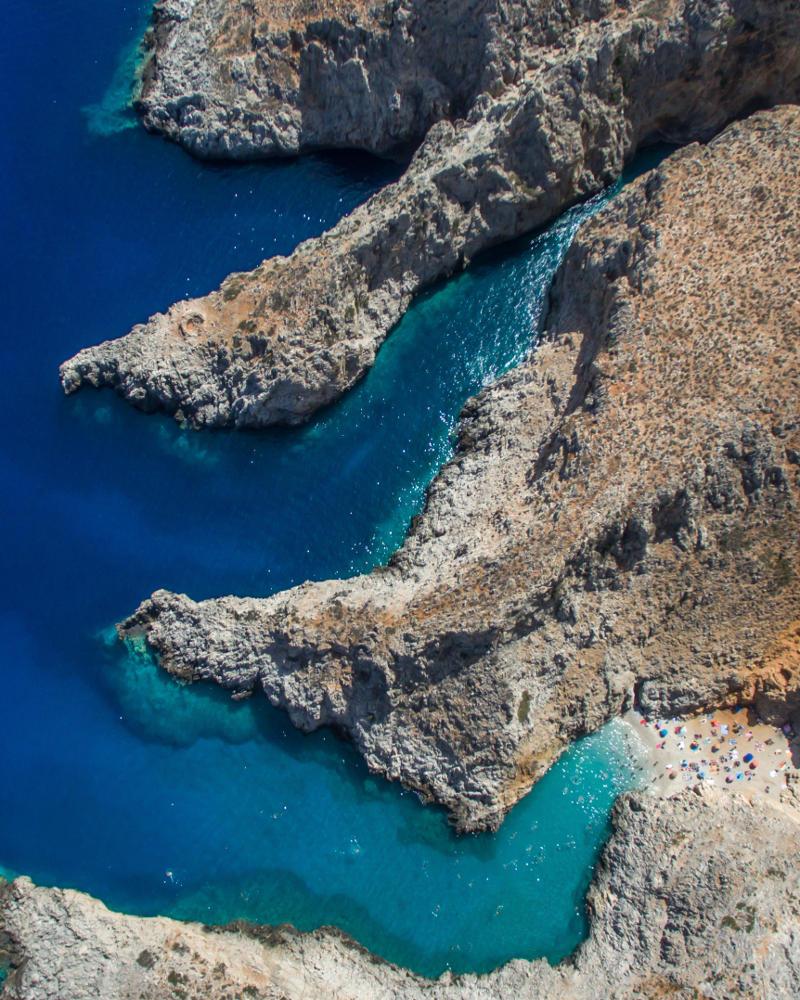 la playa de seitan limani