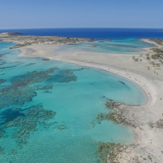 la playa de elafonisi