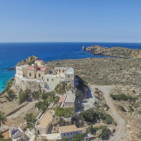 El monasterio de Chrisoskalitisa