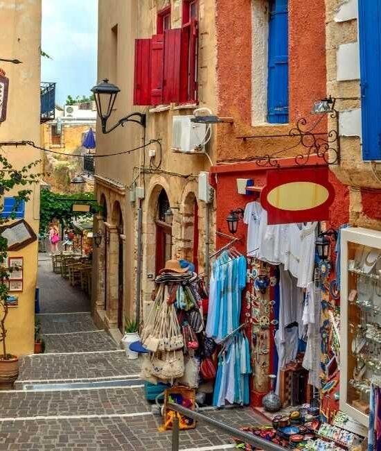 viaje en grupo Creta